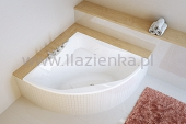 Excellent Glamour wanna narożna 140x140 WAEX.GLA14WH